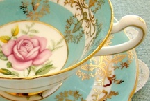 Tea Time / Antique tea cups/sets and other antique china / by Jen Ness