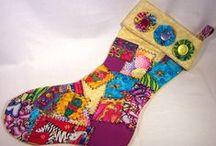 DIY Christmas Stockings / Handmade Christmas stockings to inspire you this season! / by Craftster