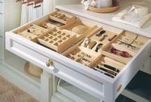 Jewelry Closets & Organization / by Elisa Ilana