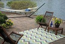 Summer Inspiration / For inspiration in designing your outdoor spaces & repin your favorite ideas! / by Bed Bath & Beyond