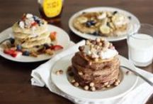 Quick! Make a BREAK, FAST! / Pancakes, smoothies, oatmeal, and other recipes for the most important meal of the day. / by Melody