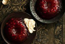 Jelly & fruits / by Geetha Subbu