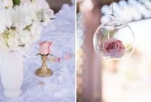 Blush and Gold Baptism Party / by Miriam Corona Events