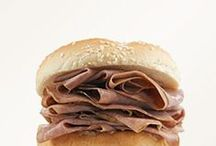 Roast Beef / It all began with Arby's Roast Beef Sandwich. Since 1964 we've been doing it the same way. Our roast beef is slow roasted in our stores for three hours every day, freshly sliced daily and piled high to roast beef perfection. / by Arby's