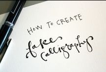 typography & stationery. / by Catherine Beard