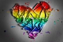 "I ""HEART"" U ~ / by Bonita Damico"