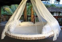 SWINGS AND WHATNOTS / things for the breezeway and florida room / by Melanie McClung