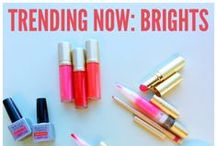 Trending Now: Brights! / Trending right now: bright colors! I love anything orange (especially orange lips), red or pink! #MallyTrends  http://www.mallybeauty.com/trends-page-april / by Mally Beauty
