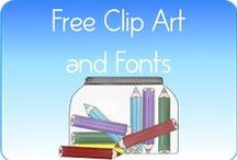 Fonts & Clip Art / by Theda Weatherly