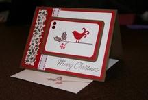 Cards Christmas SU Berry Christmas / by Soni Larson