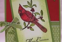 Cards Christmas SU Cardinal  Christmas, A / by Soni Larson