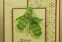 Cards Christmas SU Make a Mitten / by Soni Larson