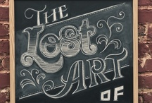 Hand Written Lettering  / by Theda Weatherly