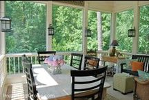 Porches, Decks, and Outdoor Spaces / by Katie Bielat