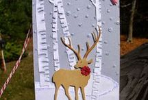 Cards Christmas Deer / by Soni Larson