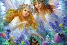 HEAVENLY ANGELS / by Mary C