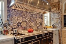 FRENCH COUNTRY KITCHENS / by Mary C