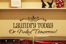 LAUNDRY ROOMS / by Mary C
