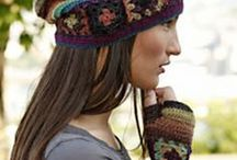 CROCHET HATS, SCARFS AND GLOVES / ALL  PICTURES SHOULD HAVE A LINK TO FREE PATTERN / by Mary C