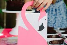 Pink Flamingo Party / by Cathy C - 505 Design, Inc