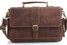 Men's Leather Briefcases & More / Men's Leather Briefcases & More / by Leo Wang