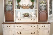 China Cabinet / by Bernadette: That Way By Design