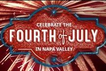"""Fourth of July Weekend Board / We're currently planning for our """"Red, White and BBQ"""" Fourth of July Weekend The Meritage Resort and Spa.  Friday, July 4: """"Glamping Party"""" and Saturday, July 5: """"Pool Party"""". Let's get the party planning started! Visit our website for more info on our events: http://themeritageresort.com/napa-valley-restaurants/upcoming-resort-events/july-events/ / by Meritage Resort"""