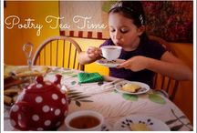 Poetry Tea Time  / Everything tea and poetry.  Poetry Teatime is a routine in our homeschool inspired by Julie at Brave Writer.  It has been a wonderful addition and I encourage you to try this relaxing and enjoyable routine with your family. / by Alex Dk