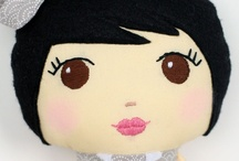 The Rice Babies Dolls / Handmade dolls / by The Rice Babies