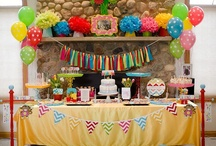 Kelly's Party Theme Board / by Kelly Celmer