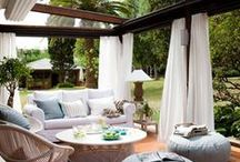 Outdoor Spaces / by Annie Manning | Paint the Moon
