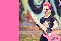 Addie's Rock Star/Punk Gothic 6th Bday Party / by Annie Manning | Paint the Moon