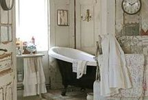 Bathroom / everything for the bathroom, from inexplicably tiny to hedonistic grandeur / by ** Cheryl **