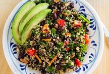 Food and Drink / mostly healthy recipes (vegan or vegetarian) / by ** Cheryl **