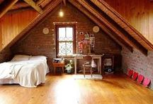 Attics and Lofts / great ideas for forgotten areas / by ** Cheryl **