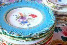 Beautiful Dishes / pretty place settings, serving dishes and accent pieces / by ** Cheryl **