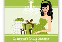 Modern Mommy Crib Neutral - Baby Shower Invitations / http://www.candlesandfavors.com/product/17503/Modern-Mommy-Crib-Neutral-Baby-Shower-Invitations  Are you planning a baby shower for a trendy mommy to be? Is she the kind of woman that ALWAYS looks good, elegantly dressed, hair always styled?   Well then we have just the theme for the mommy to be that truly wears maternity well. / by Candles & Favors