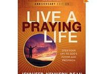Books that Shaped My Prayer Life / God used these books to help me learn to relate to know and relate to Him. / by Jennifer White