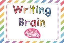 Writing Brain / by FirstGradeBrain (Ashley Magee)