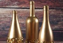 Wine Bottle Crafts / Some of our favorite wine bottle crafts and ideas for crafting with wine corks too. wine bottle crafts, wine bottles, what to do with empty wine bottles, diy wine bottle crafts, wine bottle projects, crafts with wine bottles, how to cut a wine bottle, diy wine cork board, diy wine cork projects, diy cork projects, how to cut wine corks, things to make with corks, crafts with corks, uses for wine corks, cork ideas  / by FaveCrafts