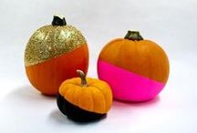 Pumpkin Carving & Pumpkin Decorating Ideas / Great ideas to decorate your pumpkin. We have no carve pumpkin decorating ideas, free pumpkin carving templates, pumpkin carving tricks, pumpkin home decor ideas, and more! / by FaveCrafts