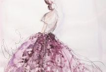 Illustrations in Fashion / by Angelina Scianna
