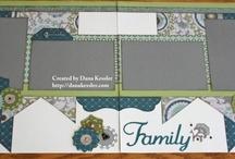 Scrapbook double page layouts / by Joe-Anne Farnsworth