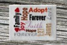 Adoption Embroidery Designs / A specific place to find embroidery designs related to adoption. / by 8 Claws and a Paw Embroidery