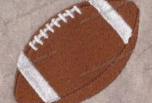 Sports Embroidery Designs and Appliques / by 8 Claws and a Paw Embroidery