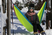let it snow... / It may be chilly, but winter hammocking dreams are alive and well! Check out tips to stay warm on our blog - http://www.eaglesnestoutfittersinc.com/ENO-blog/?p=413 / by ENO Hammocks