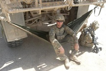 heroes and she-roes / A collection of some of our fine Heroes and She-roes taking a well deserved rest from defending our honor and freedom! / by ENO Hammocks