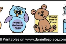 Learning Fun! / Crafts and Learning Activities for School / by Danielle's Place of Crafts