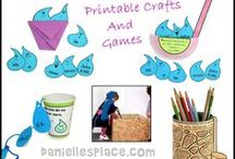 Bible Crafts for Kids / Bible Crafts, Sunday School Crafts and Activities, Religious Crafts for Children's Church, Preschool Bible Crafts / by Danielle's Place of Crafts