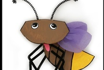 Insect and Bug Crafts / Crafts and Learning Activities Relating to Insects and bugs. / by Danielle's Place of Crafts